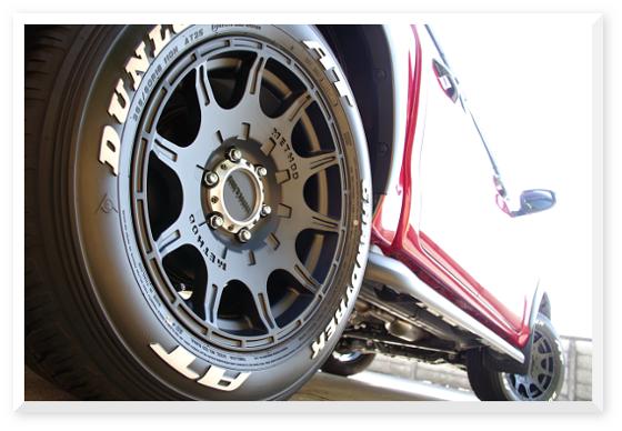 新型ハイラックス・再販ハイラックス 「METHOD 308 Roost」18インチ装着写真